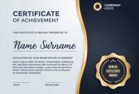 Certificate Template-Design | Kostenlose Vektor With Award intended for Award Certificate Design Template
