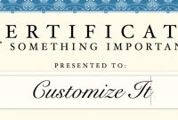 Certificate Template For Pages And Pdf – Mactemplates inside Certificate Template For Pages