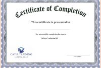 Certificate Template Free Printable – Free Download | Free with Free Printable Graduation Certificate Templates