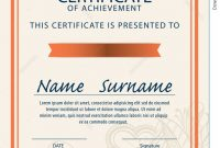 Certificate Template,diploma,a4 Size ,vector Illustration with Certificate Template Size