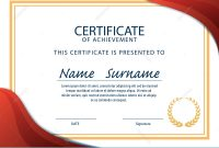 Certificate Template,diploma,a4 Size ,vector Illustration within Certificate Template Size