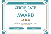 Certificates – Office throughout Microsoft Word Award Certificate Template