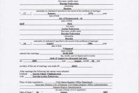 Certified Marriage Certificate Translation | Портфолио pertaining to Marriage Certificate Translation Template