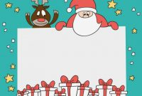 Christmas Card Template | Free Vector in Free Holiday Photo Card Templates
