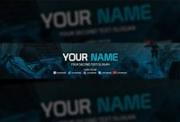 Clean Youtube Banner Template – Youtube Banner Templates regarding Youtube Banners Template
