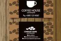 Coffee Shop Business Card Free Vector Download (27,135 Free within Coffee Business Card Template Free