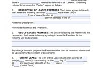 Commercial Lease Agreement Templates   Poster Template with Business Lease Agreement Template Free