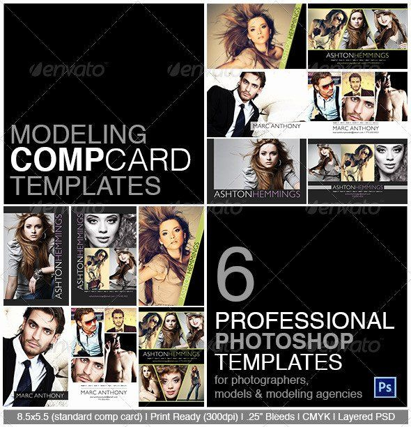 Composite Card Template Free In 2020   Model Comp Card, Card Intended For Model Comp Card Template Free