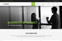 Corporate Responsive Website Template Free Download throughout Template For Business Website Free Download