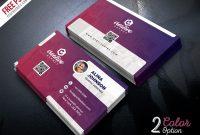 Creative Business Card Template Psd Set   Psdfreebies with regard to Creative Business Card Templates Psd