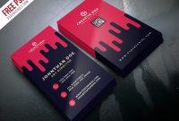 Creative Digital Agency Business Card Template Psd throughout Creative Business Card Templates Psd
