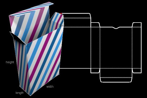 Custom Box Template Generator: Preview Of Template pertaining to Card Box Template Generator