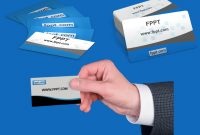 Customizable Business Card Clipart For Powerpoint in Business Card Powerpoint Templates Free