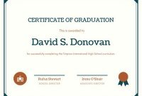 Customize 70+ Diploma Certificates Templates Online – Canva with Free Printable Graduation Certificate Templates