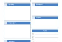 Daily Calendar – Free Printable Daily Calendars For Excel within Printable Blank Daily Schedule Template
