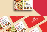 Delicious Food Business Card Template | Graphicsegg intended for Food Business Cards Templates Free