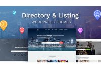 Directory And Listings WordPress Themes For November 2017 Within WordPress Business Directory Template