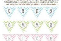 Diy Baby Shower Craft Ideas | Baby Shower Crafts, Diy Baby inside Baby Shower Banner Template