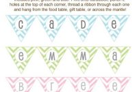 Diy Baby Shower Craft Ideas | Baby Shower Crafts, Diy Baby with Diy Baby Shower Banner Template
