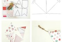 Diy Paper Pennant Banner (W/ Free Template | Homemade with regard to Homemade Banner Template