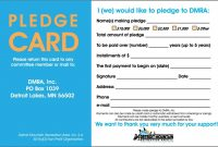 Donor Card For Non Profit Organizations - Yahoo Image Search for Fundraising Pledge Card Template
