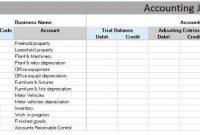 Download Free General Ledger In Excel Format. for Business Ledger Template Excel Free