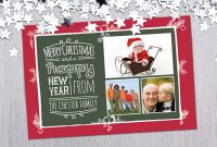 Download Free Photo Christmas Card Templates with Free Holiday Photo Card Templates
