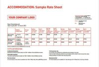 Download Pack Of 25 Rate Card Templates In 1 Click.. | Word intended for Rate Card Template Word