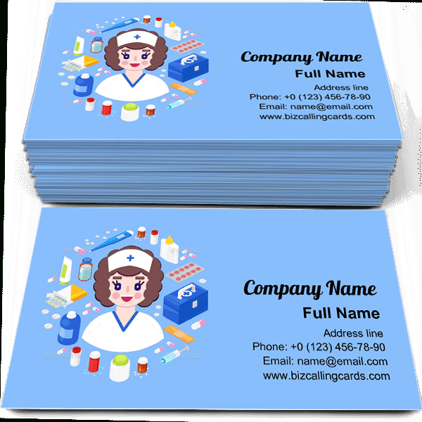 ✅ Free Nurse Equipment Business Card Template Maker With Plastering Business Cards Templates