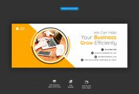 Facebook Cover Banner Template Corporate Business Promotion regarding Facebook Business Templates Free