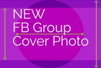 Facebook Group Cover Photo Size 2020: Free Template for Facebook Banner Size Template