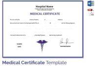 Fake-Medical-Certificate-Medical-Certificate-Template throughout Free Fake Medical Certificate Template