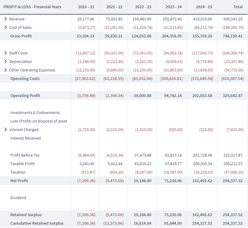 Financial Projections Guide For A Startup Business Plan   Brixx Intended For Business Plan Balance Sheet Template