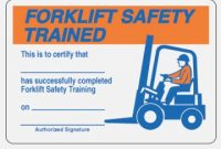 Forklift Wallet Card Template Free | The Art Of Mike Mignola throughout Forklift Certification Card Template