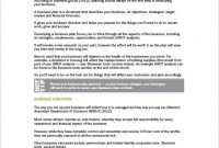 Free 10+ Trucking Business Plan Templates In Pdf | Ms Word with regard to Business Plan Template For Transport Company