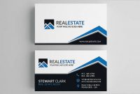 Free 13+ Real Estate Business Card Templates In Psd | Ai in Real Estate Business Cards Templates Free