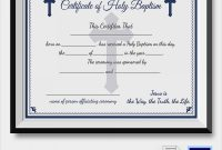 Free 23+ Sample Baptism Certificate Templates In Pdf | Ms inside Baptism Certificate Template Word