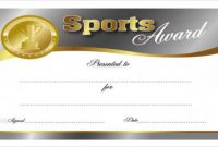 Free 27+ Sports Certificates In Pdf pertaining to Sports Award Certificate Template Word