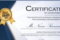Free 30+ Printable Sample Certificate Templates In Ai within Certificate Template For Pages