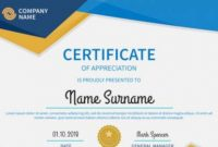 Free 54+ Printable Award Certificate Templates In Ai intended for Certificate Template For Pages