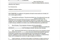 Free 60+ Partnership Agreement Examples & Samples In Pdf pertaining to Free Business Partnership Agreement Template Uk