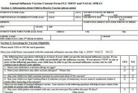 Free 7+ Sample Vaccine Consent Forms In Pdf | Ms Word in Certificate Of Vaccination Template