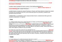 Free 9+ Business Lease Agreement Samples In Pdf   Ms Word inside Business Lease Agreement Template Free