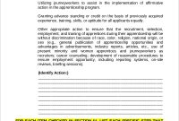 Free 9+ Sample Affirmative Action Plan Templates In Ms Word throughout Affirmative Action Plan Template For Small Business