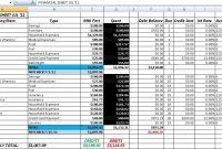 Free Accounting And Bookkeeping Excel Spreadsheet Template pertaining to Excel Accounting Templates For Small Businesses