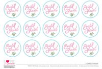 Free Bridal Shower Party Printables From Love Party for Bridal Shower Banner Template