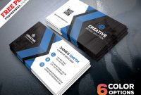 Free Business Cards Templates Psd Bundle | Psdfreebies throughout Template Name Card Psd
