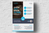 Free Business Flyer Template | Free Brochure Template regarding New Business Flyer Template Free