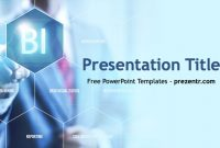 Free Business Intelligence Ppt Template – Prezentr Ppt Templates regarding Business Intelligence Powerpoint Template