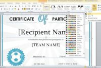 Free-Certificate-Of-Participation-Template-For-Word-2013-3 for Word 2013 Certificate Template